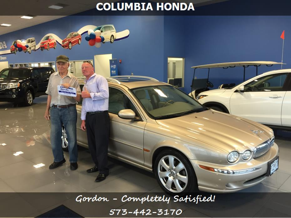Columbia honda customer rating review for gordon of for Honda dealer columbia mo