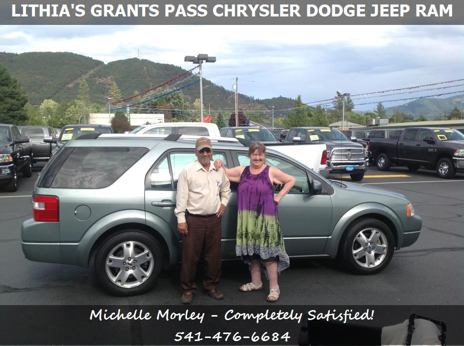 or lithia 39 s grants pass chrysler dodge jeep ram michelle morley. Cars Review. Best American Auto & Cars Review