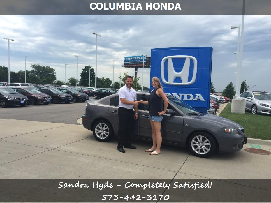 Purchase a mazda mazda 3 in columbia missouri columbia for Honda dealer columbia mo