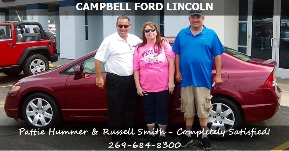 Auto Financing Niles MI Campbell Ford Lincoln Credit Center