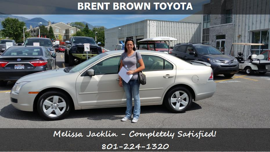 purchase a ford fusion in orem ut brent brown toyota melissa jacklin. Black Bedroom Furniture Sets. Home Design Ideas