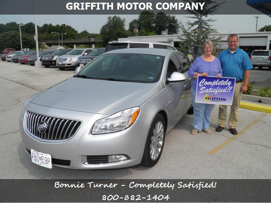 Griffith motor co customer rating review for bonnie for Griffith motor co neosho mo