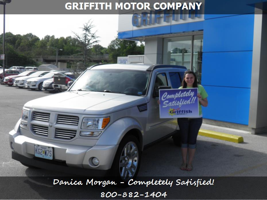 Griffith motor co customer rating review for danica for Griffith motor co neosho mo