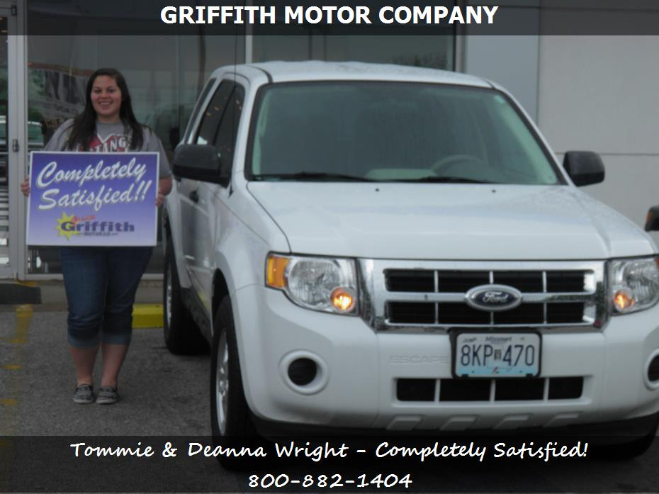 Purchase a ford escape in neosho mo griffith motor co for Griffith motor co neosho mo
