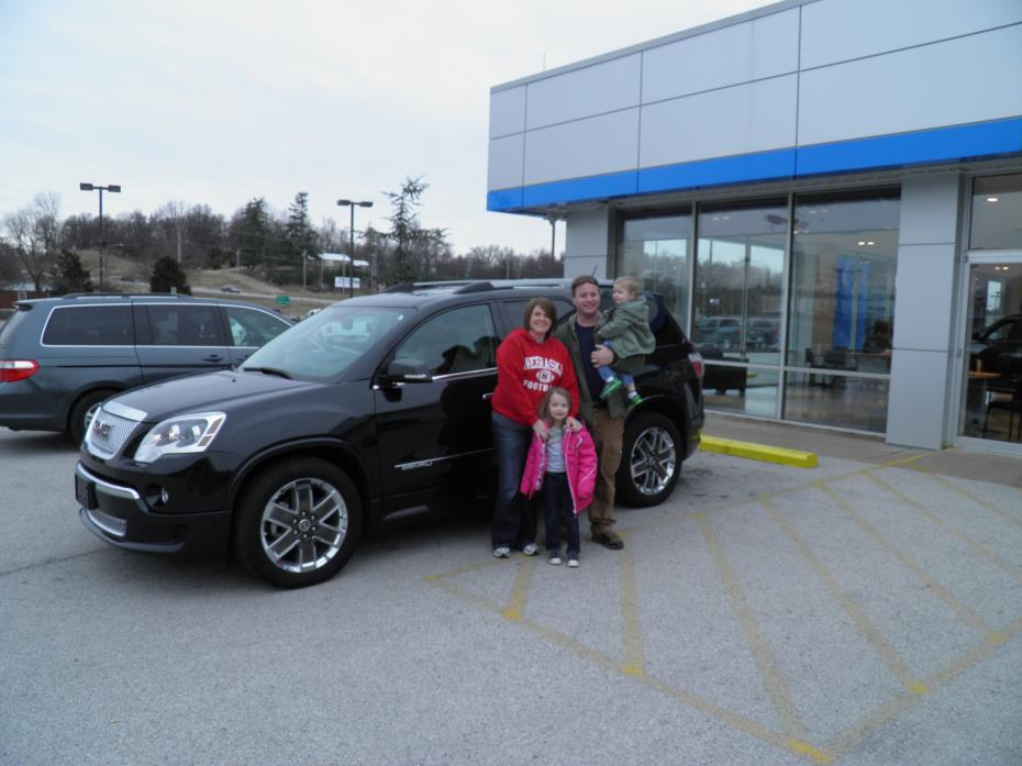 Purchase a gmc acadia denali in neosho mo griffith for Griffith motor co neosho mo