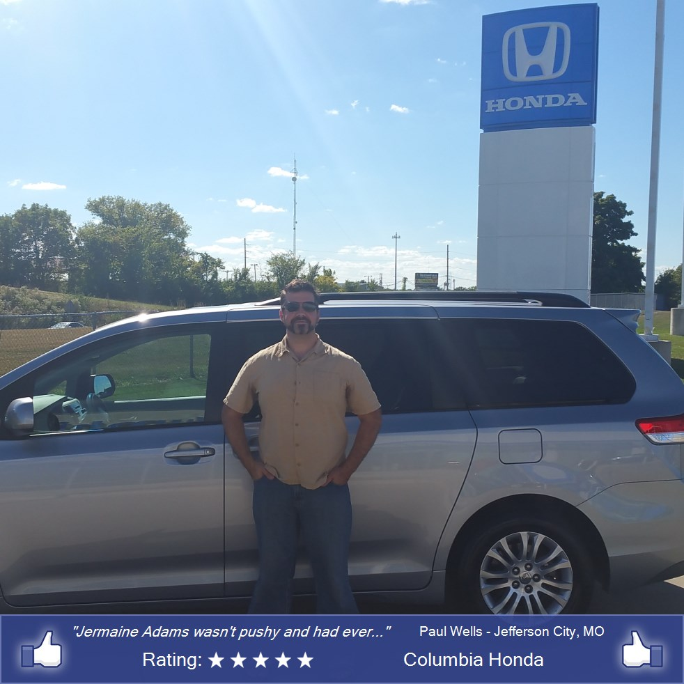 Columbia Honda review photo 1