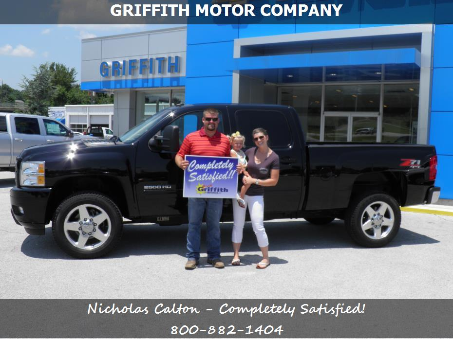 Chevrolet Service Repairs Parts In Neosho Mo Griffith Motor Co Nicholas Calton