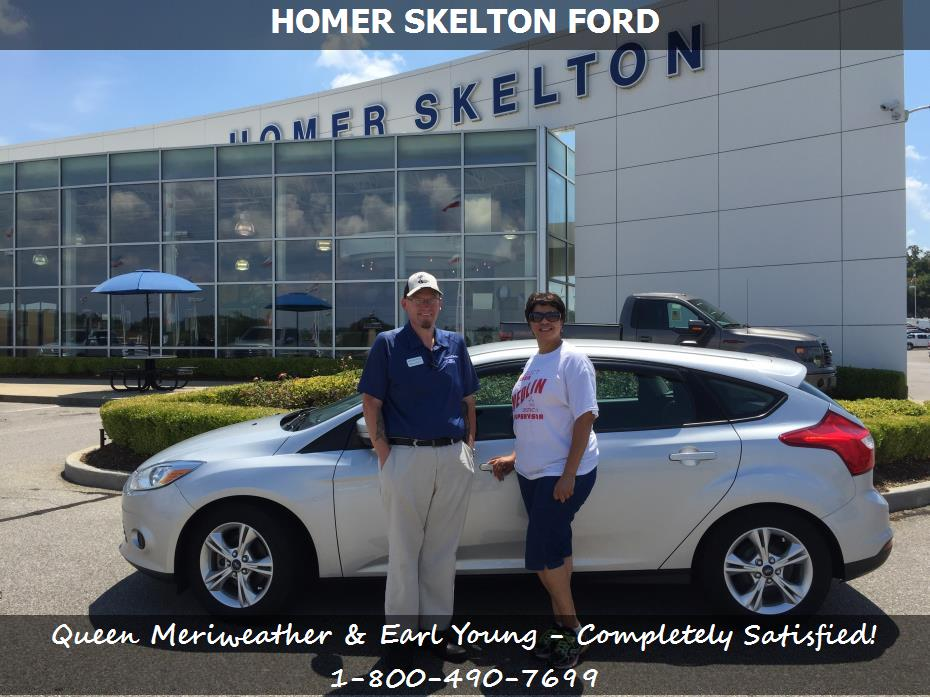 Homer Skelton Ford >> Dealership Reviews in Olive Branch MS - Homer Skelton Ford Queen Meriweather & Earl Young