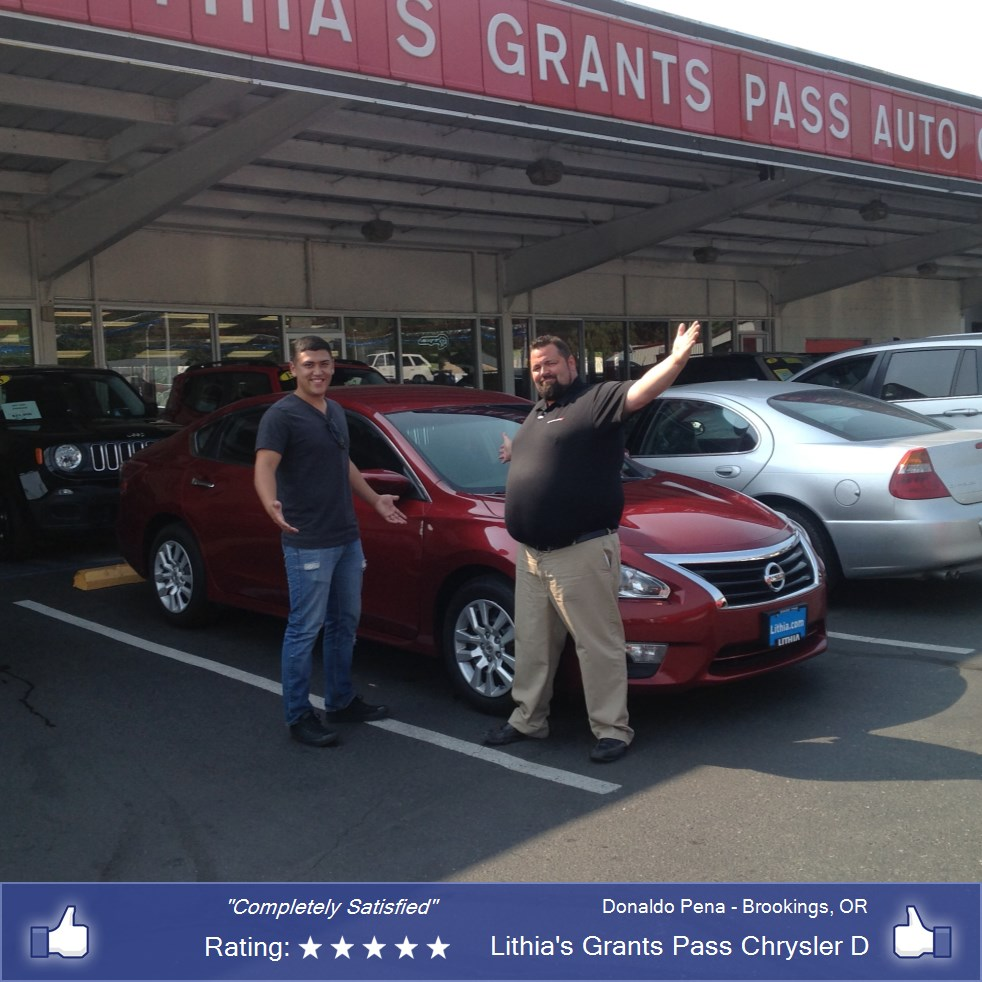Nissan Auto Loans In Grants Pass Or Lithia 39 S Grants Pass