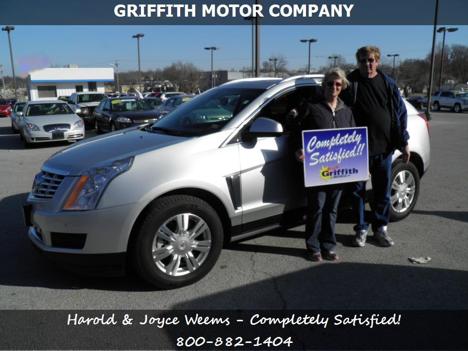 Cadillac Auto Loans In Neosho Mo Griffith Motor Co