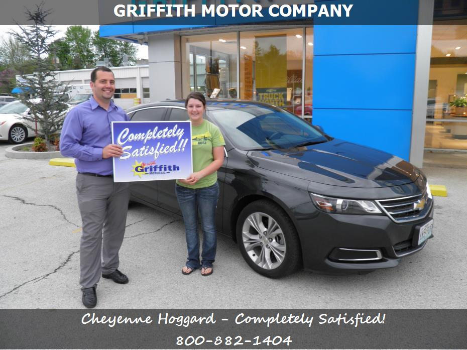 Griffith motor co customer rating review for cheyenne for Griffith motor co neosho mo