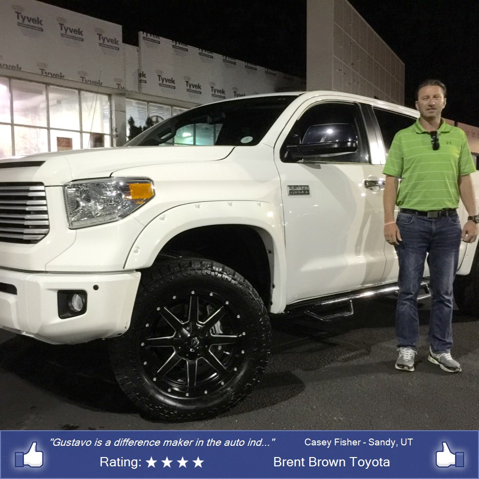purchase a toyota tundra in orem ut brent brown toyota casey fisher. Black Bedroom Furniture Sets. Home Design Ideas