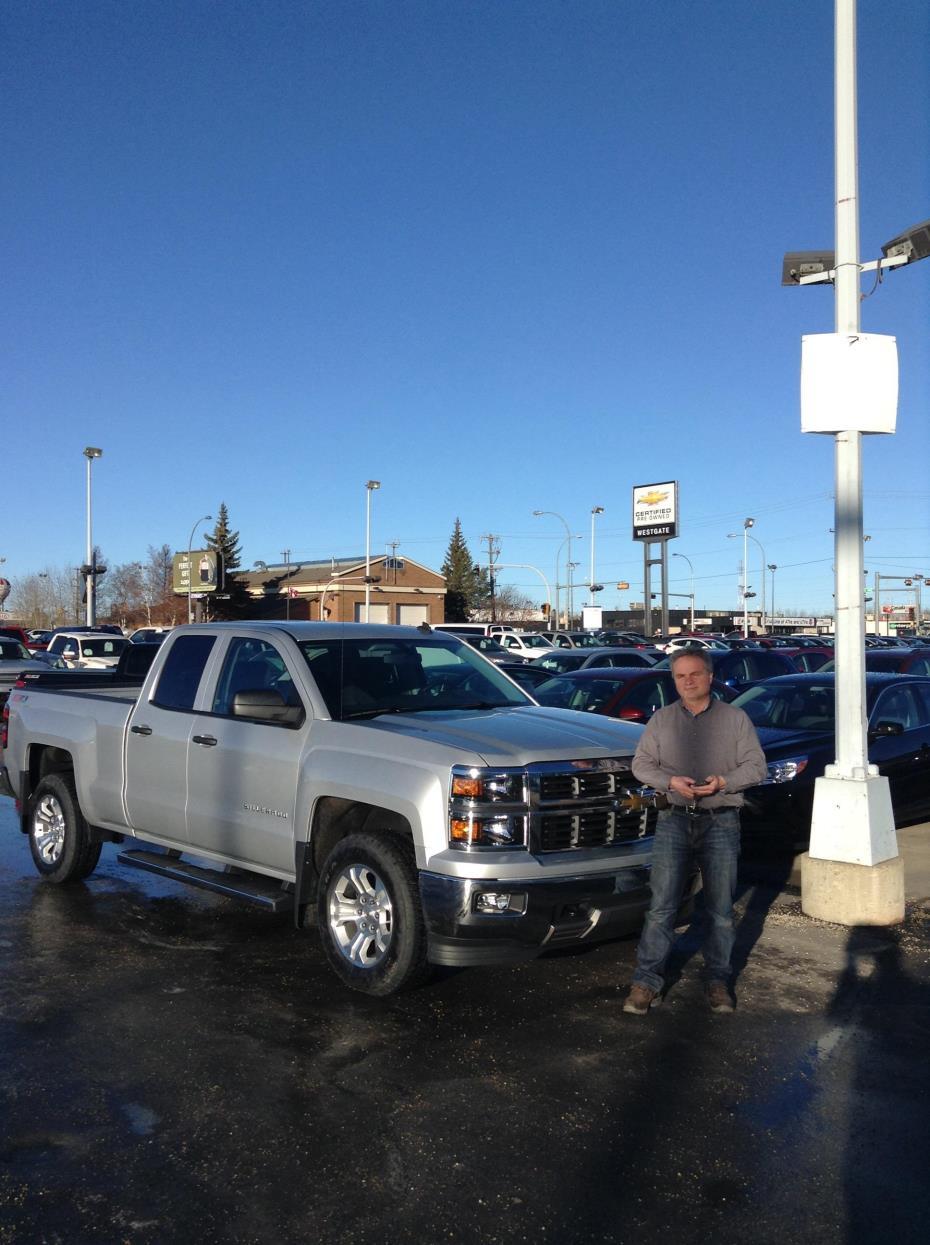 Westgate Chevrolet Ltd Customer Rating Review For Doug