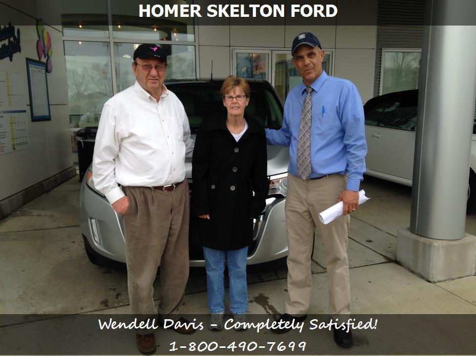 homer skelton ford customer rating review for wendell davis of olive branch ms. Black Bedroom Furniture Sets. Home Design Ideas