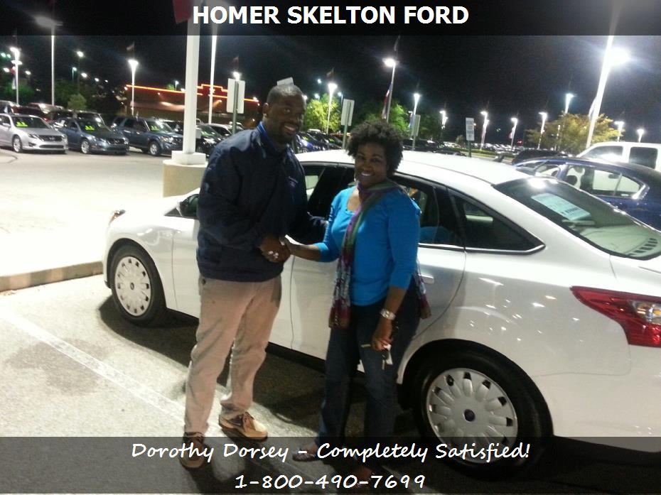 homer skelton ford customer rating review for dorothy dorsey of memphis tn. Black Bedroom Furniture Sets. Home Design Ideas