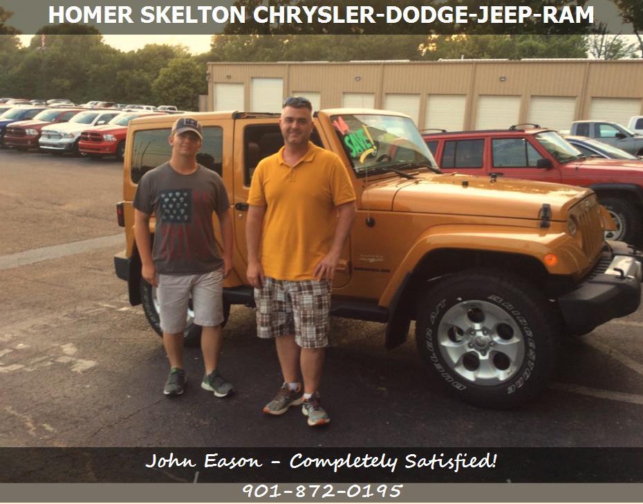 Used Car Dealerships In Memphis Tn >> Vehicle Specials in Millington TN   Homer Skelton Chrysler Dodge Jeep Ram   John Eason