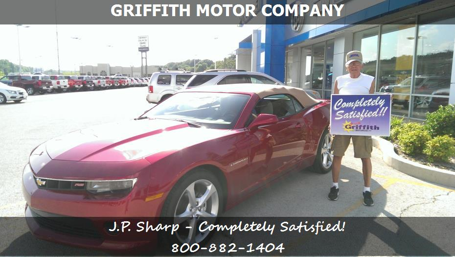 Griffith motor co customer rating review for j p sharp for Griffith motor co neosho mo