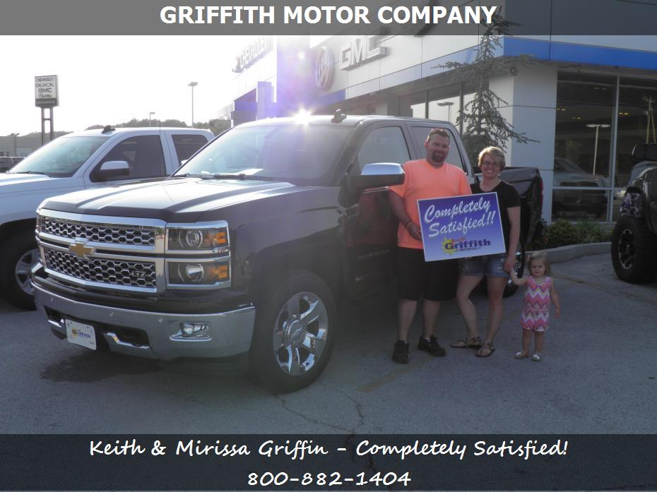 Griffith motor co customer rating review for keith for Griffith motor co neosho mo