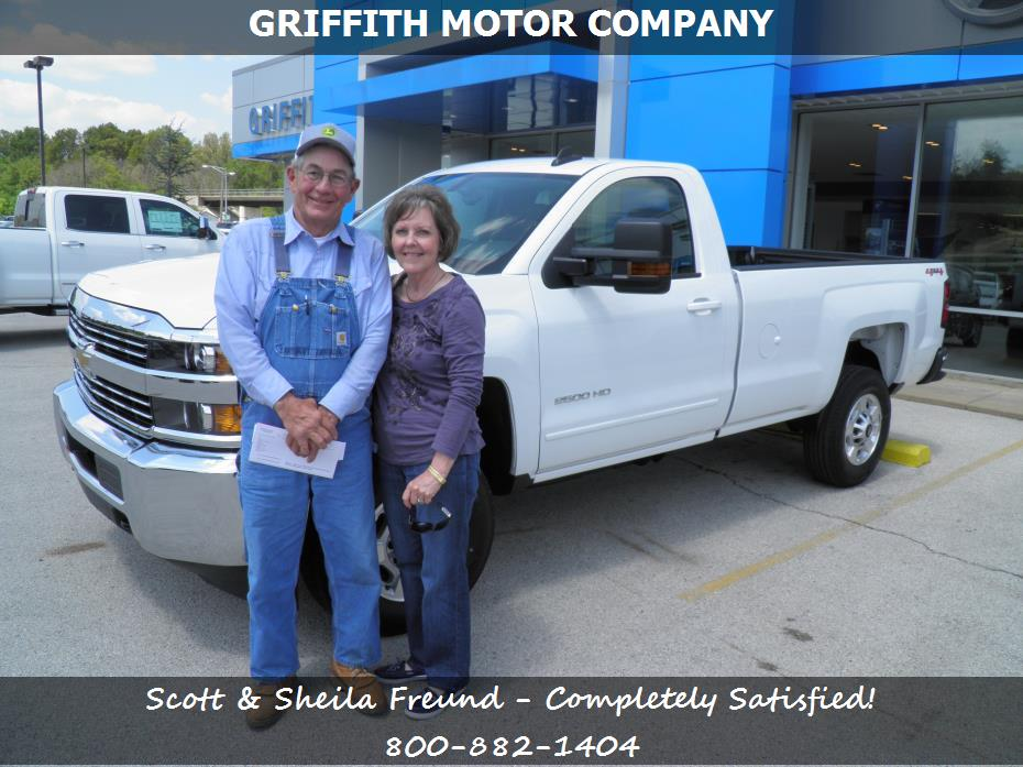 Griffith motor co customer rating review for scott for Griffith motor co neosho mo