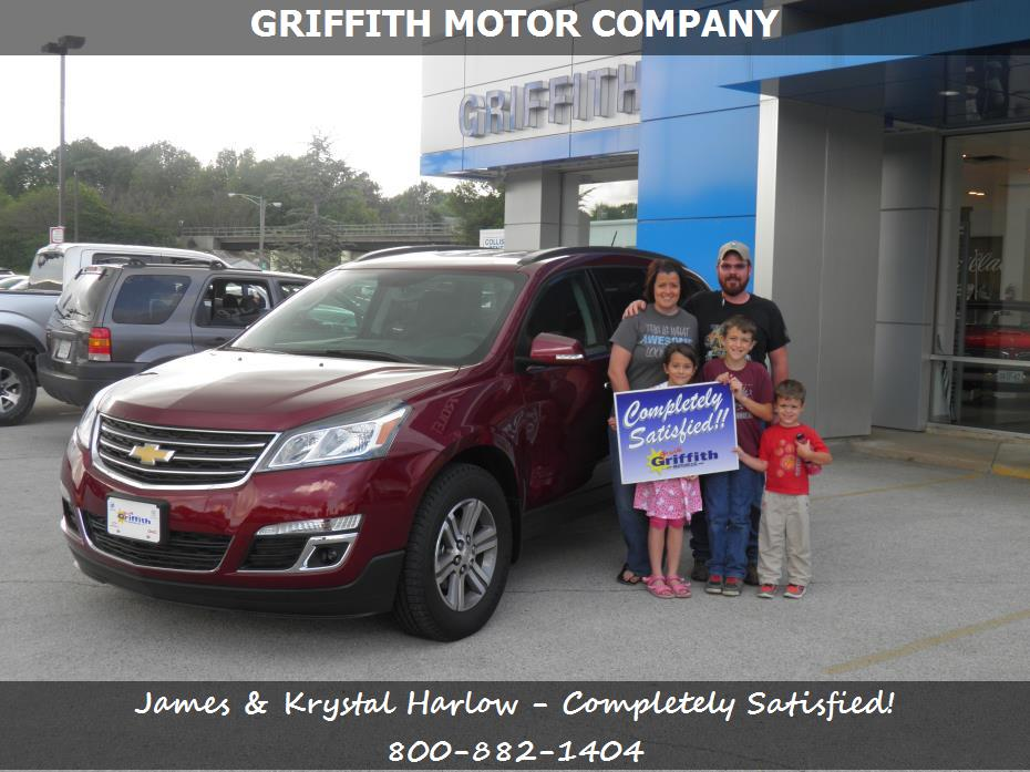Chevrolet Service Repairs Parts In Neosho Mo Griffith Motor Co James Krystal Harlow