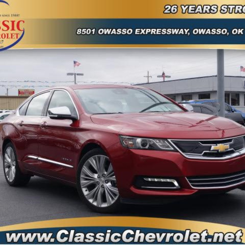 buy new 2015 chevrolet impala classic chevrolet owasso ok campbell 1. Cars Review. Best American Auto & Cars Review