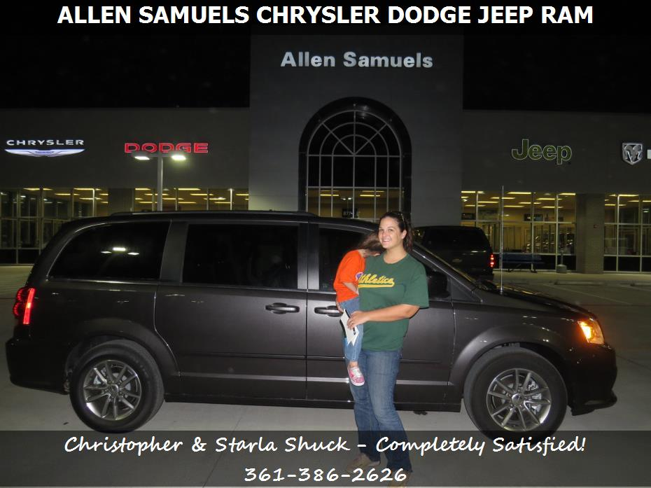 dealership ratings aransas pass tx allen samuels chrysler dodge jeep ram. Black Bedroom Furniture Sets. Home Design Ideas