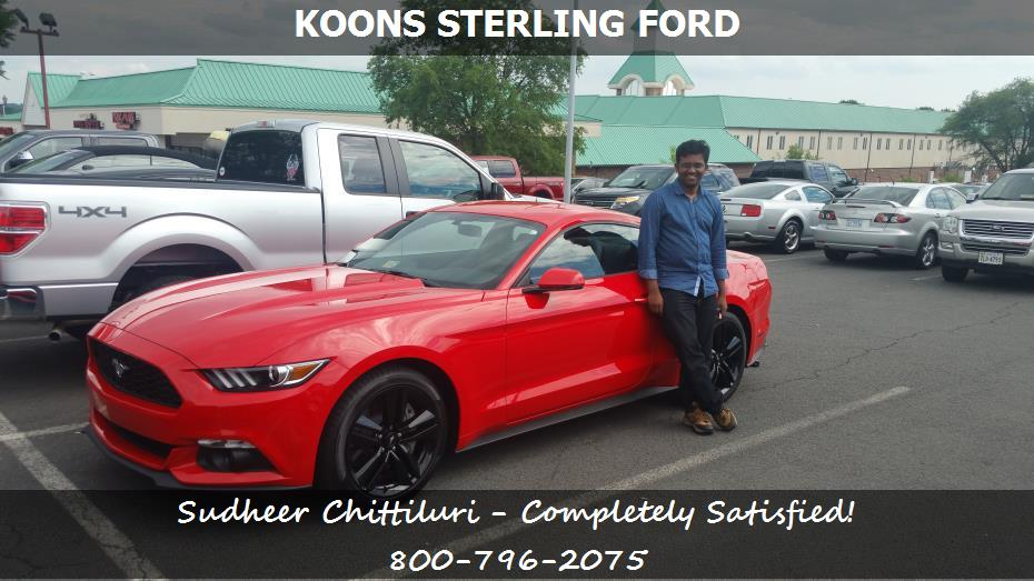 Purchase A Ford Mustang In Sterling Va Koons Sterling