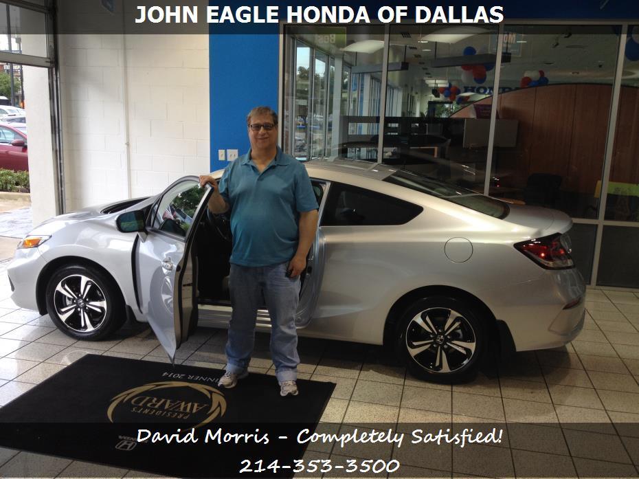 John eagle honda of dallas customer rating review for for Honda dallas tx