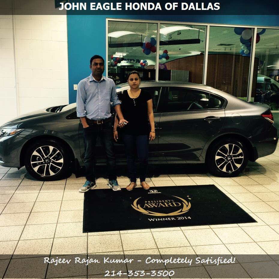 Purchase a honda civic in dallas tx john eagle honda of for John eagle honda dallas