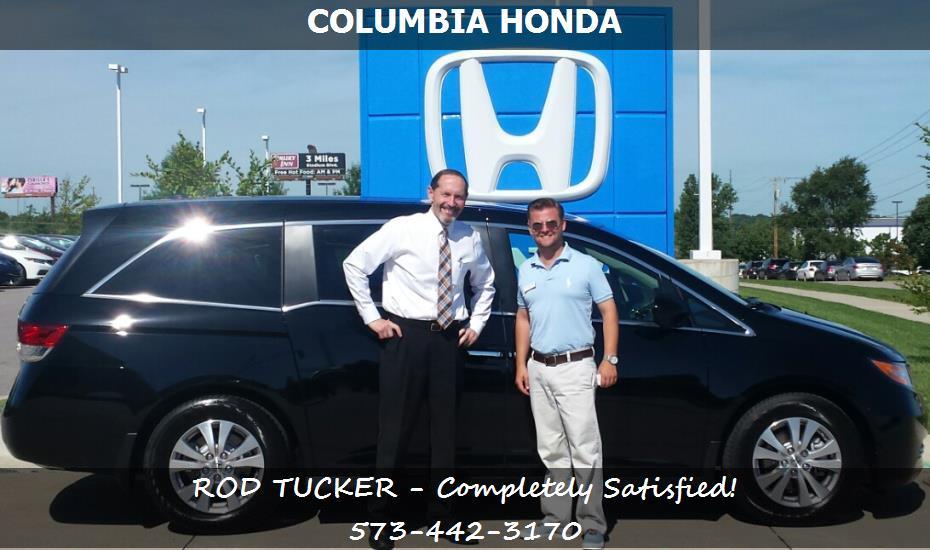 Columbia honda customer rating review for rod tucker of for Columbia honda columbia mo