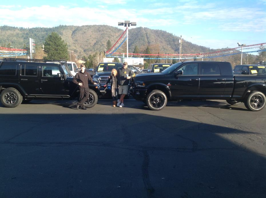lithia 39 s grants pass chrysler dodge jeep ram richard and tammy s. Cars Review. Best American Auto & Cars Review
