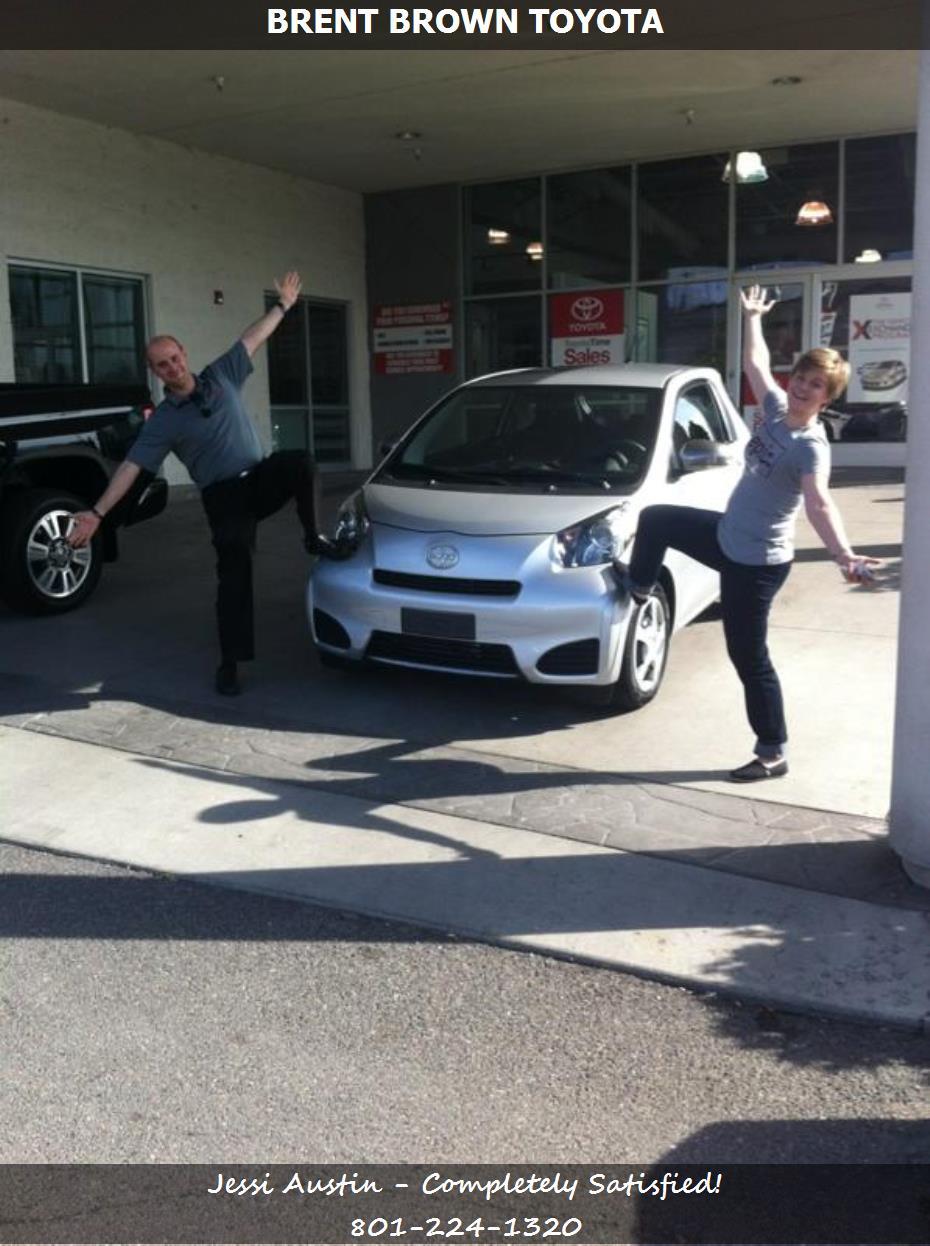 Dealership Reviews In Orem Ut Brent Brown Toyota Jessi