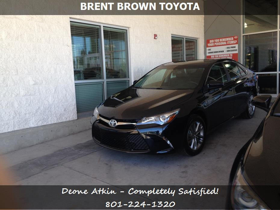 brent brown toyota customer rating review for deone atkin of tooele ut. Black Bedroom Furniture Sets. Home Design Ideas