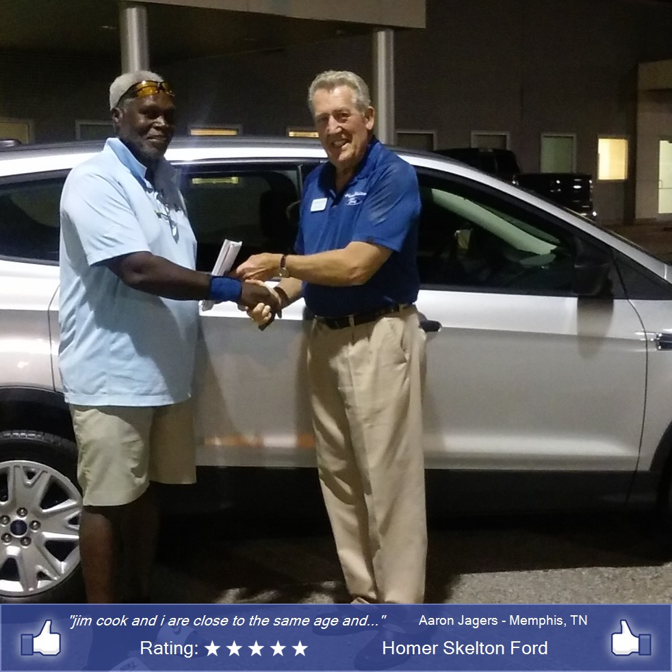 Homer skelton ford customer rating review for aaron for Best deal motors memphis tn