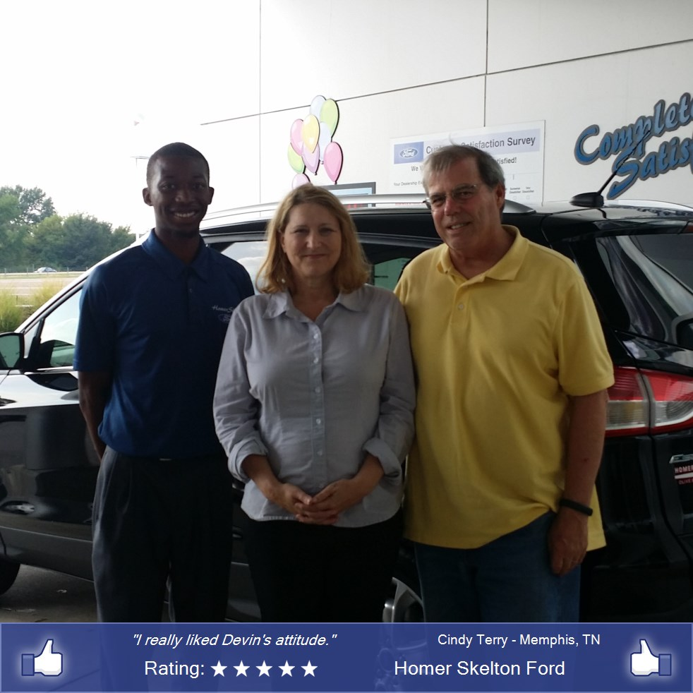 Homer skelton ford customer rating review for cindy for Best deal motors memphis tn