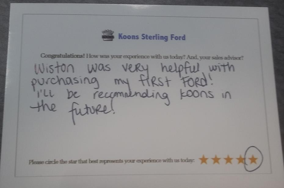Koons Sterling Ford review photo 2