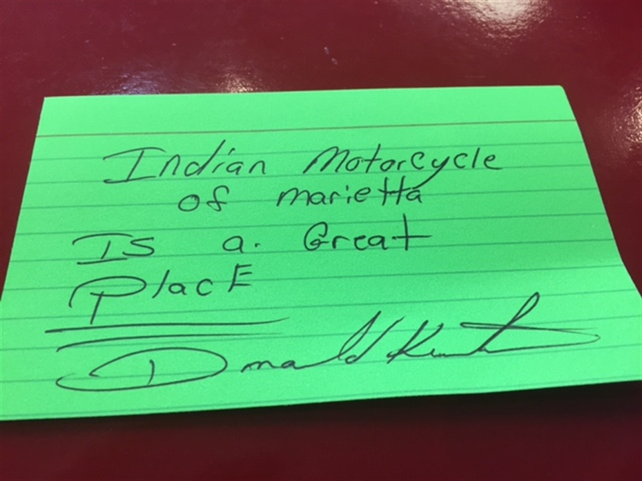 Indian Motorcycle of Marietta review photo 2