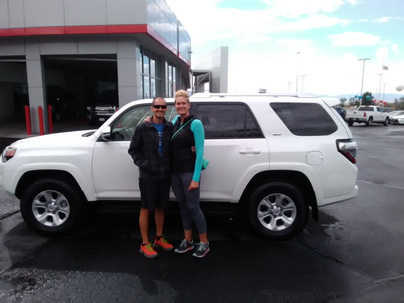 ANDY And STEPHINE SMITH Review The 2016 Toyota SR 5 4 RUNNER PREMIUM They  Purchased From Brent Brown Toyota In Orem UT