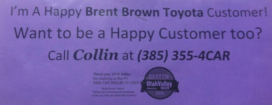 Brent Brown Toyota review photo 2