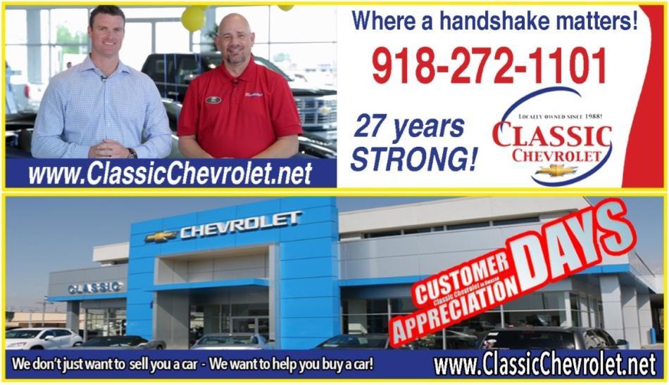 Great Classic Chevrolet Deals