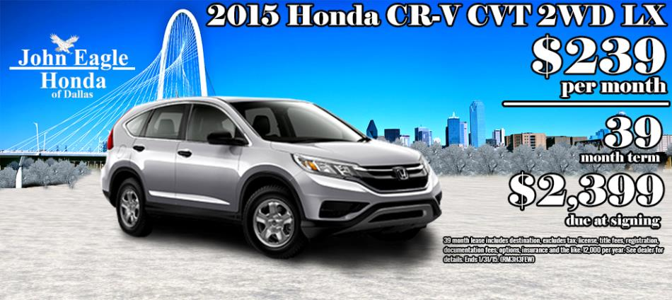 John Eagle Honda of Dallas Deals